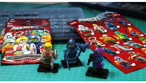 LEGO Masters of the Universe minifigures