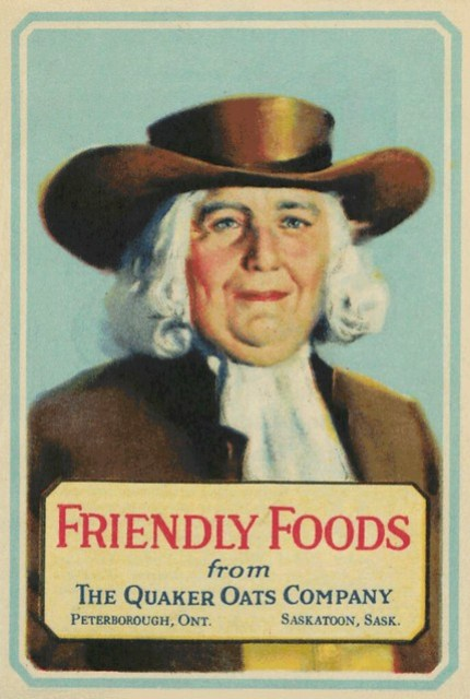 Friendly foods from the Quaker Oats Company   Aliments amicales du Quaker Oats Company