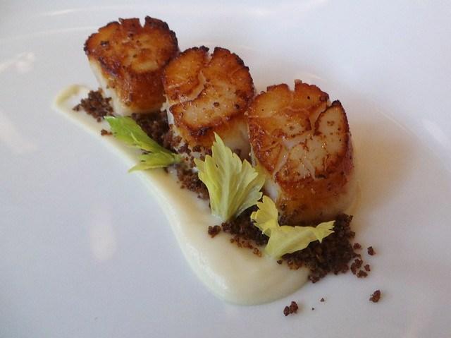 Grilled Hokkaido scallops
