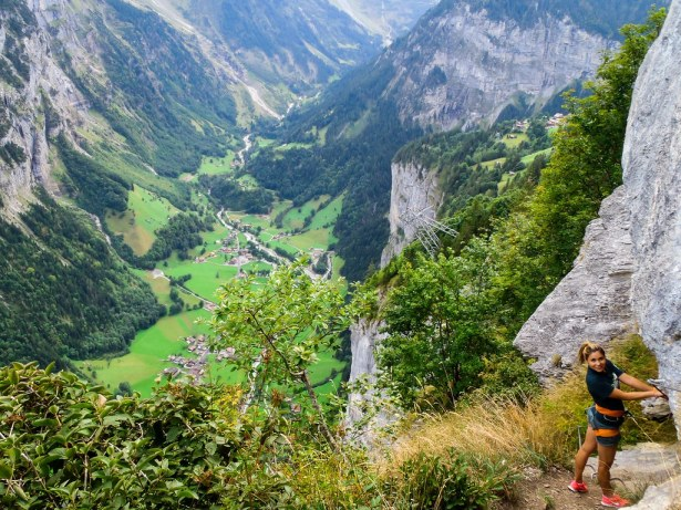 Via Ferrata - Lauterbrunnen, Switzerland