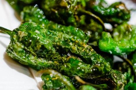 Encasa pimiento de Padrón peppers