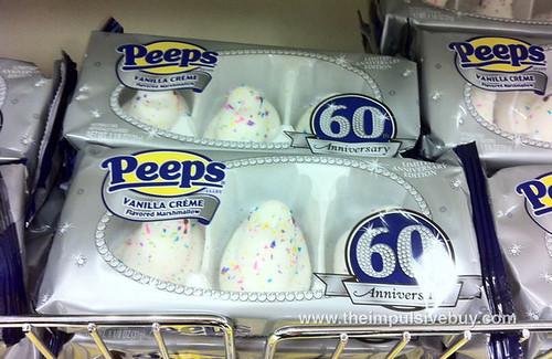 60th Anniversary Peeps Vanilla Creme