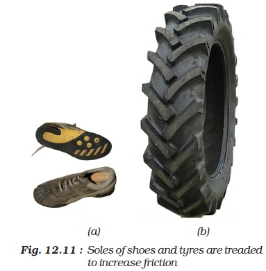 NCERT Class VIII Science Chapter 12 Friction
