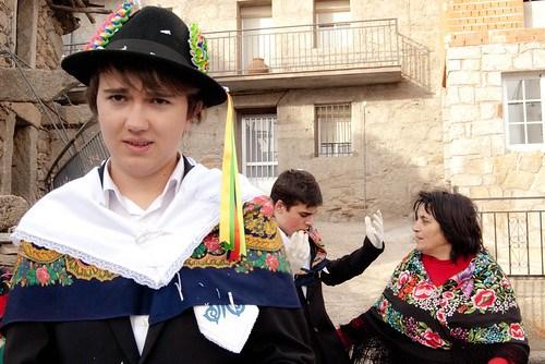 La fiesta de los Cucurrumachos de Navalosa (Ávila)