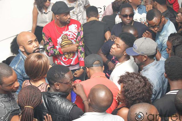 8630510657 0d0c6e0aa2 z Photos: Ciroc, stars, hot babes and more at Banky W 32nd Birthday party