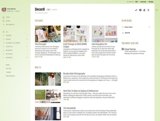 I'm on Feedly and Bloglovin - Are you?