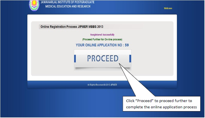 JIPMER MBBS 2014 Application Form in jipmer  Category