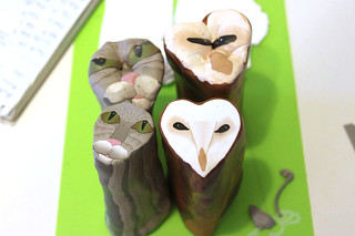 Owl and Pussycat Face Canes