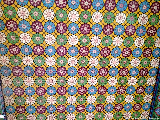 Tile Work at Erbil Citadel