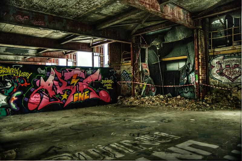 Teufelsberg abandoned buildings