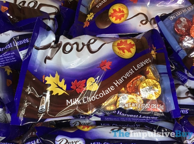 Dove Milk Chocolate Harvest Leaves