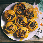 Pumpkin Chocolate Swirl Buns