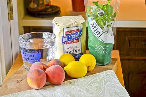Fresh Peach Lemonade 18