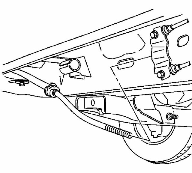 re does anyone have a diagram of the rear parking brake assembly