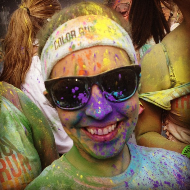 Color drop #sacramentocolorrun #colorrun