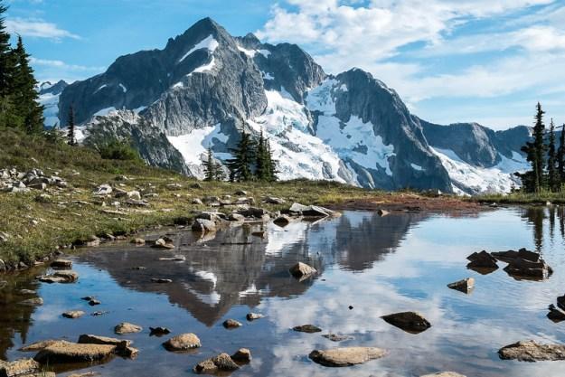Whatcom Peak in Ugly Duckling Pond