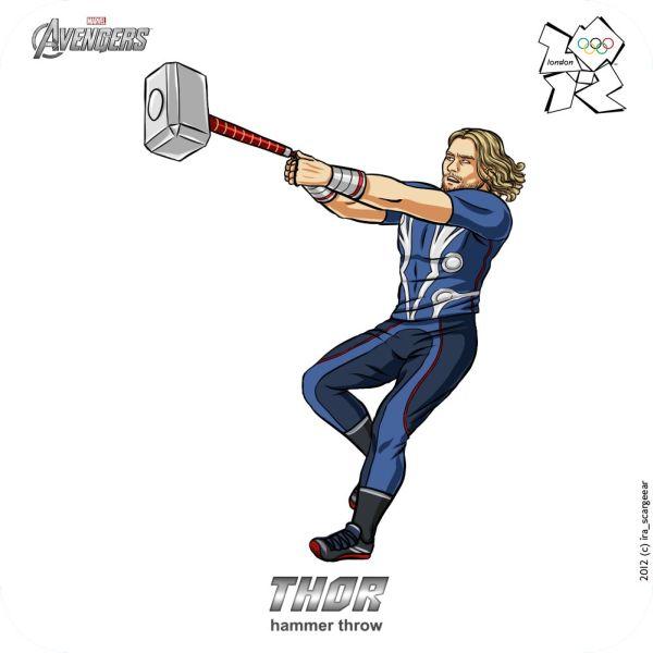 Os Vingadores na Olimpíada