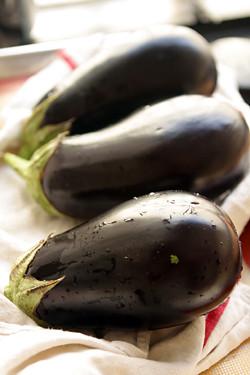 eggplants for eggplant jam