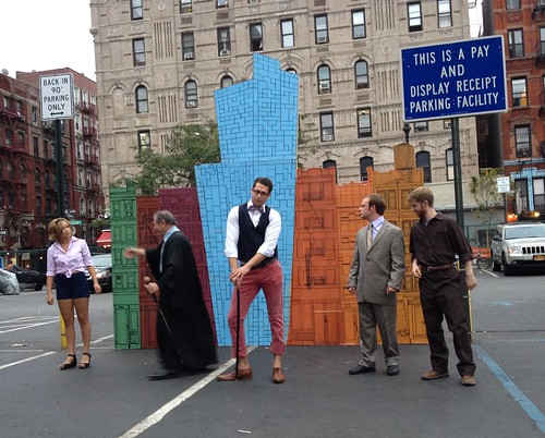Shakespeare in the Park(ing Lot)