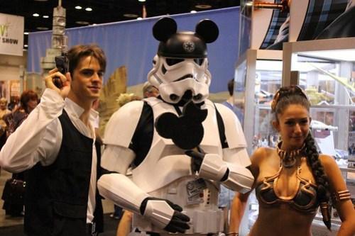 Mickey Stormtrooper - Star Wars Celebration VI