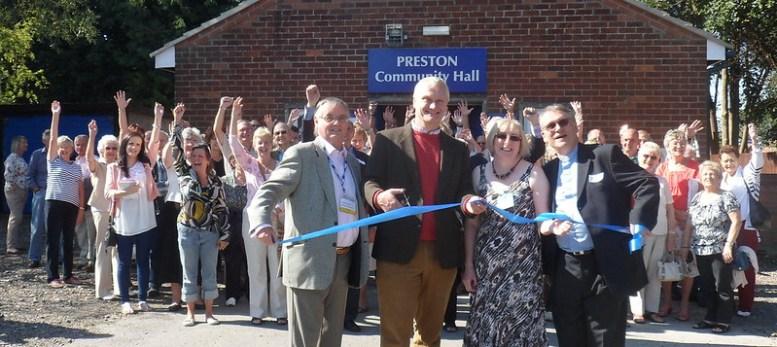 Preston Community Hall re-opening