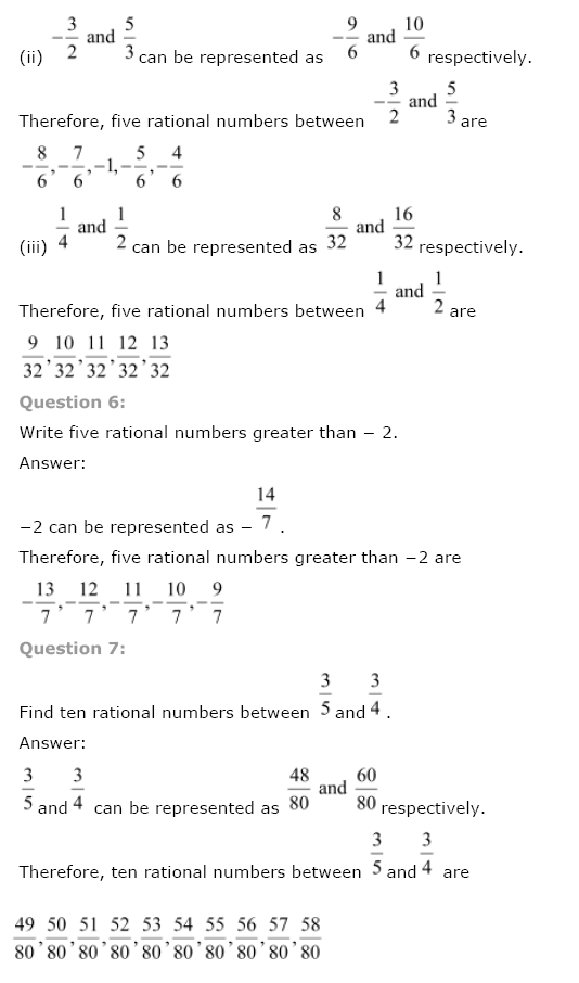 NCERT Solutions for Class 8th Maths Chapter 1 Rational Numbers Image by AglaSem