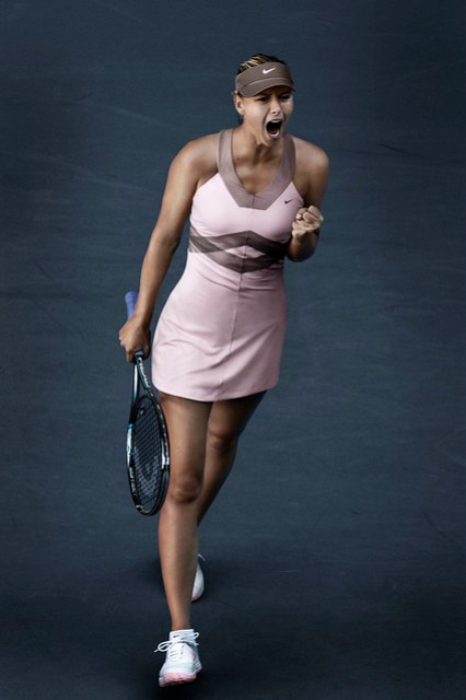 Maria Sharapova US Open outfit - day