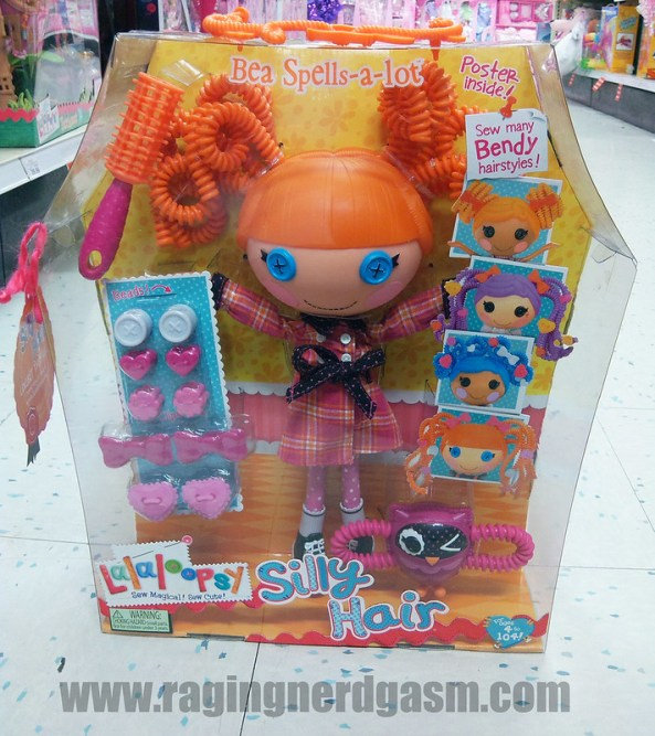Lalaloopsy DollsLarge Silly HairBea Spells a lot01
