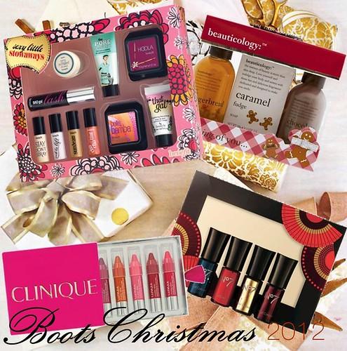 Boots Christmas Beauty Gifts 2012 Makeup Savvy Makeup