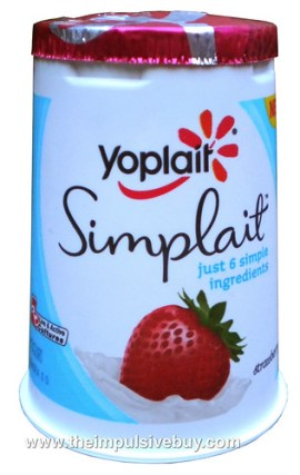 Yoplait Simplait Strawberry Yogurt