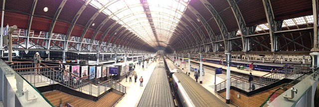 Paddington panorama on iPhone 5