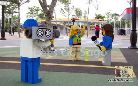 Life-size Lego Figures