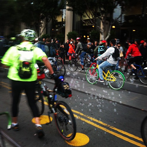 The inevitable bubbles #criticalmass #sfcm20