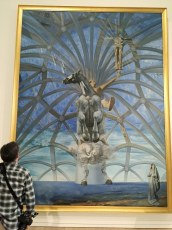 Dali at the Beaverbrook Exhibition at The Audain Gallery, Whistler