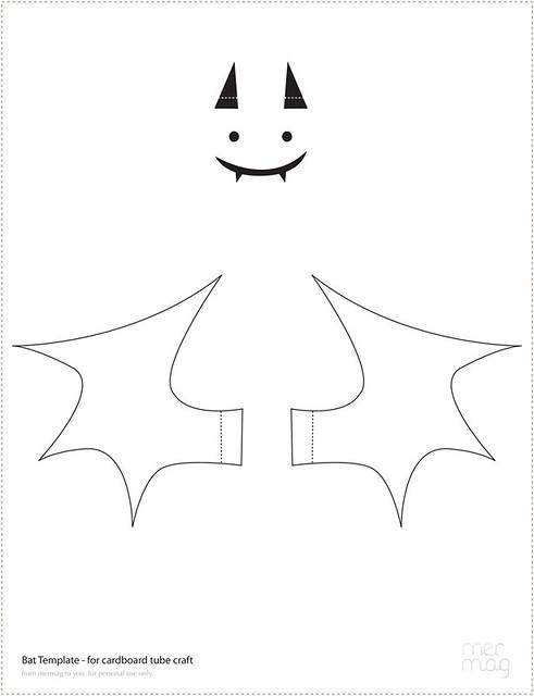 bat face template - Josemulinohouse