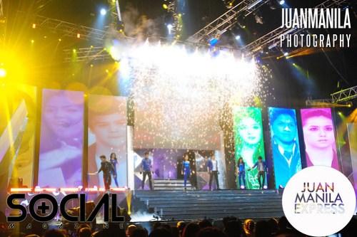 TV5 Artista Academy Awards Night was held at the SMART Araneta Coliseum.