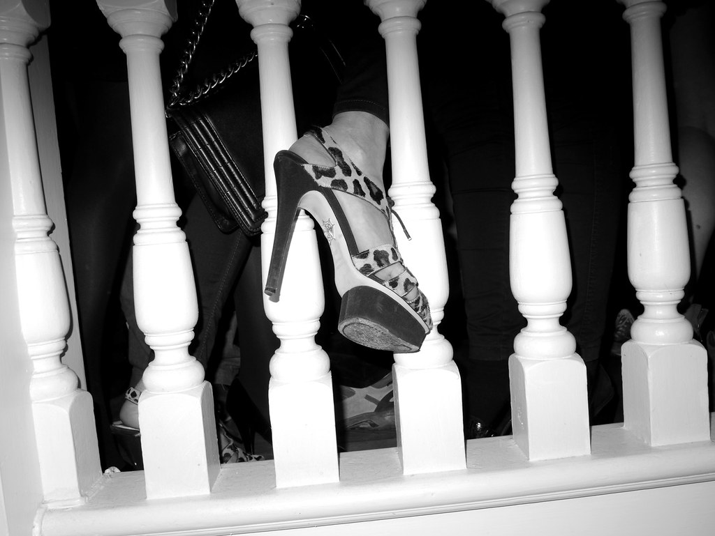 Charlotte Olympia heels - THE FRIEZE 2012 AFTER PARTY at Groucho Club, London Photo Olivier Zahm