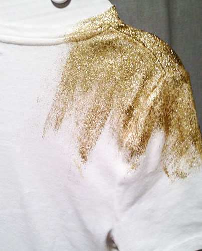 Gold Embellished Tshirt