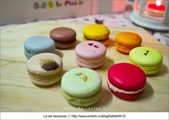 《高雄♥甜點》Le Plaisir 貝喜樂馬卡龍。時尚夢幻的法式甜點兒~ - ♥蘿莉 La vie heureuse - 無名小站