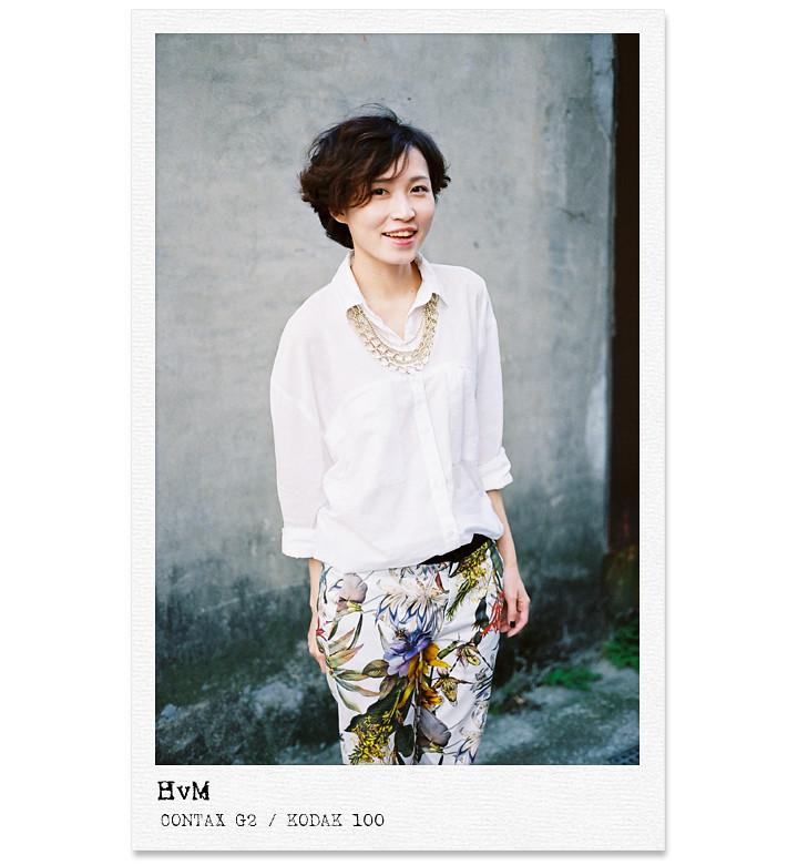 穿搭|Today Outfit No.71 輕熟女的自信穿搭。白襯衫×印花褲 - 魔法24