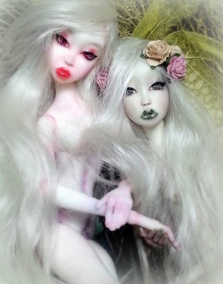 LD in resin- art ball jointed doll