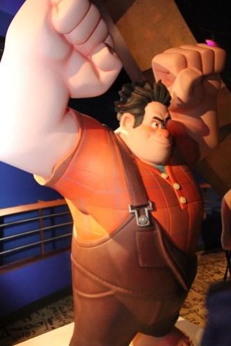 Wreck-It Ralph Meet-Up at DisneyQuest