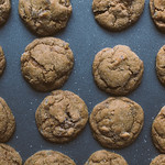 Chewy Double-Ginger Cookies