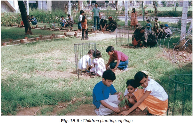 NCERT Class VIII Science Chapter 18 Pollution of Air and Water