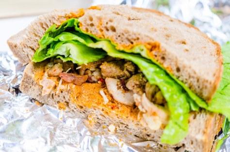 Via Abercrombie Chilli Chicken sandwich
