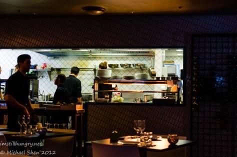 Xanthi - open kitchen