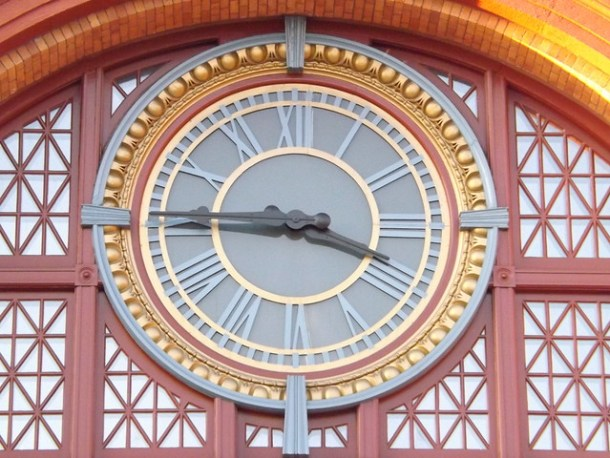 Clock at Union Station