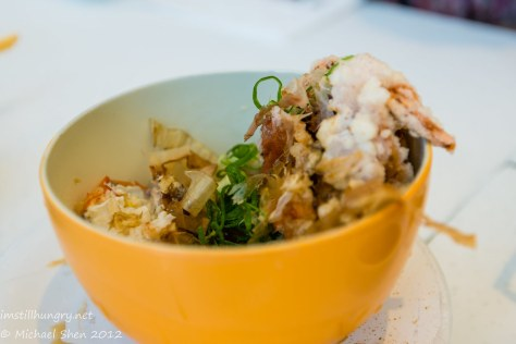 Takumi soft shell crab