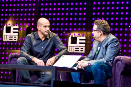 Phil Libin of Evernote and Loic Le Meur at Le Web 2012