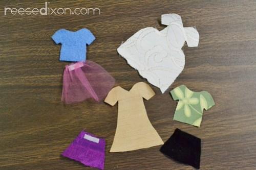 Dress Up Doll Box Tutorial Step 3